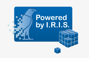 text recognition powered-by-iris logo